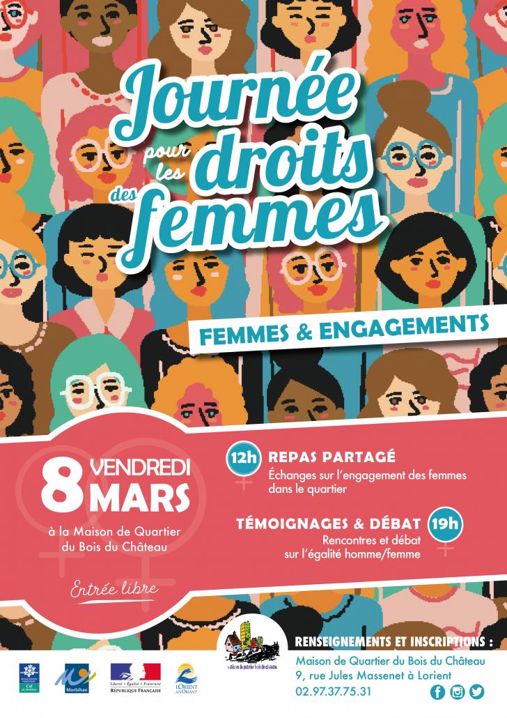 Journée pour les droits des femmes_ Mars 2019_Bois_du_Château