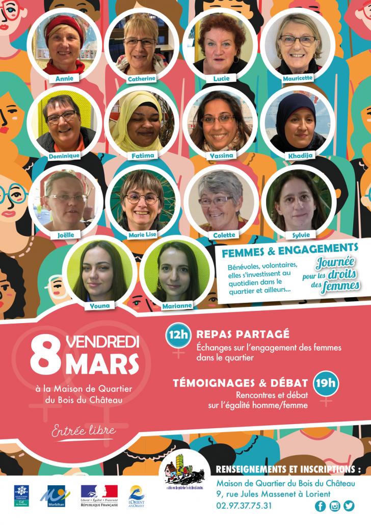 Affiche-journée-de-la-femme-Mars-2019-14_femmes_engagées_au_Bois_du_Château