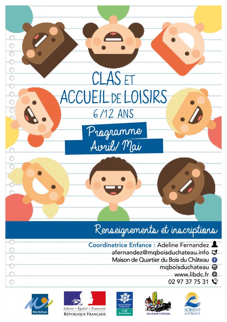 Accueil de loisirs 6-12ans MAI 2019_Maison_de_Quartier_Bois_du_Château