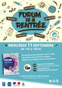 Affiche-Forum-de-la-Rentrée-2019-Maison_de_Quartier_Bois_du_Chateau_Lorient