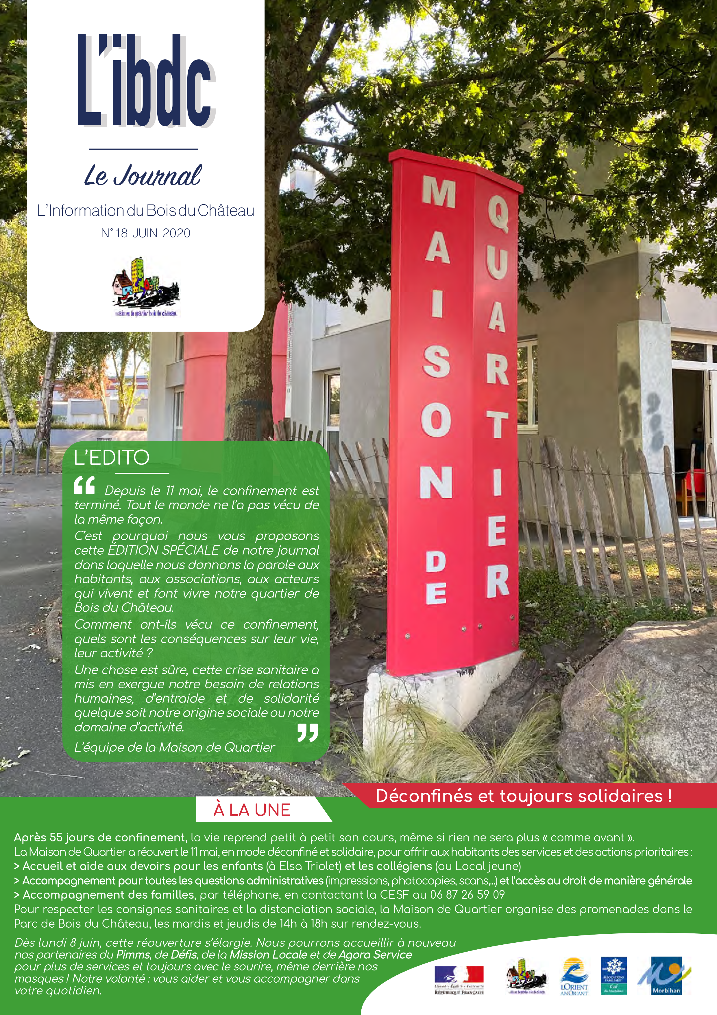 JOURNAL L'IBDC Juin 2020