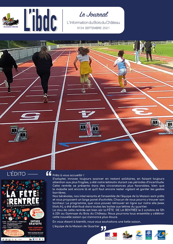 JOURNAL L'IBDC - septembre 2021 - L'information de Bois du Château